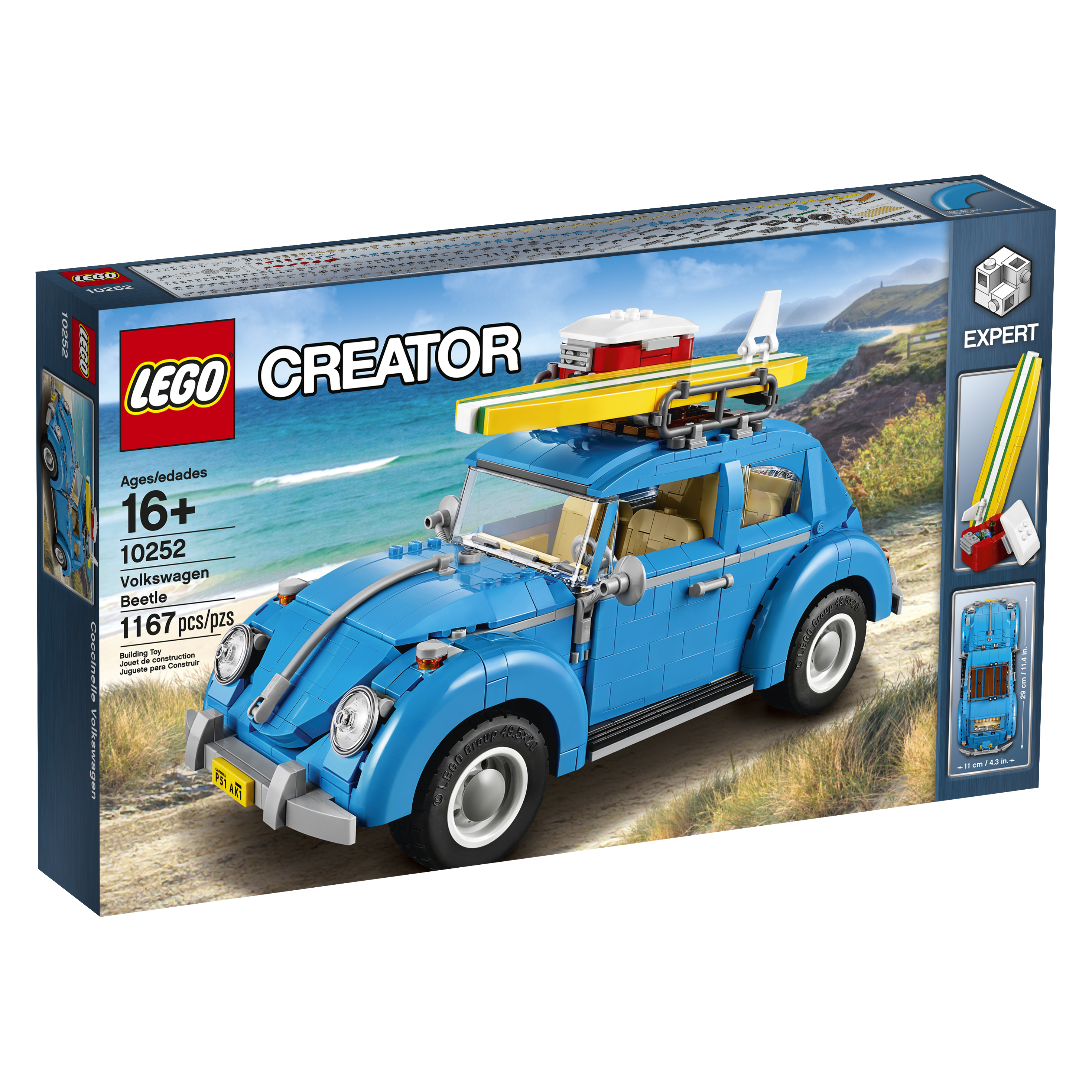 Head for the beach with the VW Beetle!
