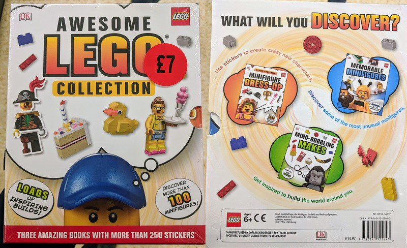 New DK Books LEGO Packs Found