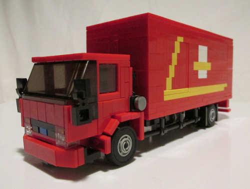 Lego Ford Cargo Royal Mail Truck