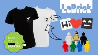 LeBrick Wear & Play T-shirt on KickStarter