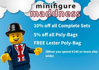 Free Lester minifig at Minifigure Maddness